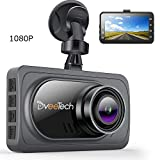 DveeTech 4k Dash Camera for Cars 1920x1080p【Super Night Vision】 3' IPS LCD FHD 1080P Screen 170°HDR/WDR G-Sensor Car Video Driving Recorder Superior Night Mode & Loop Recording & Motion Detection