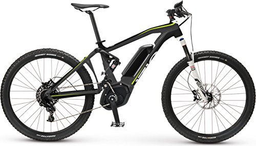 "IZIP E3 Peak DS 27.5"" Full Suspension Electric Mountain Bike with 250W Bosch CX Mid-Motor and 36V, 400Wh Lithium Battery, 2017 Model, Dark Grey, 17""/Medium"
