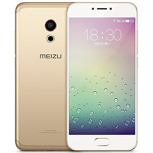 Meizu Pro 6s Unlocked Cell Phone With 3D Press 10-Core Processor 5.2-inch 1080P AMOLED Screen 4GB+64GB International Version Gold
