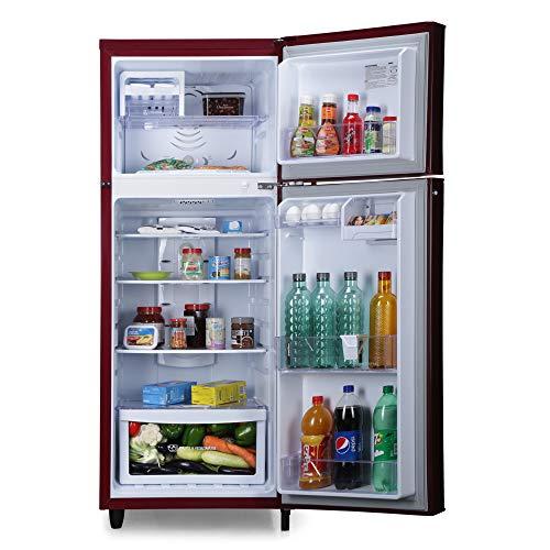 51oMJGkTe0L Godrej 255 L 2 Star Inverter Frost-Free Double Door Refrigerator (RF EON 255B 25 HI SC DR, Scarlet Dremin)