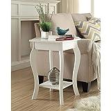 Convenience Concepts Designs2Go Ella End Table, White