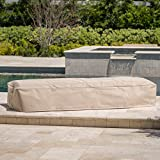 Christopher Knight Home 301182 Solana Outdoor Beige Waterproof Fabric Lounge Set Cover (Set of 4)