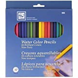 Loew Cornell 995A Watercolor Pencils, Pack of 24