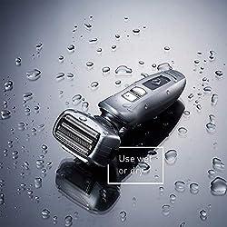 Panasonic ES-LA63-S Arc4 Men's Electric Razor, 4-Blade Cordless with Wet/Dry Shaver Convenience  Image 4