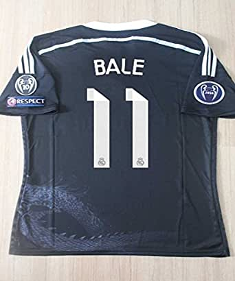 Amazon.com: Real Madrid 2014-2015 Bale 3rd Ucl Soccer ...