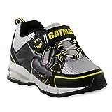 DC Comics' Toddler Boys' Batman Sneaker, Light-Up, Black, (6 M US Toddler)