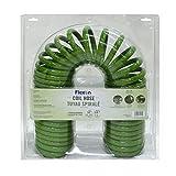 Flexon PCH5850 Coil Garden Hose, 50ft, Green