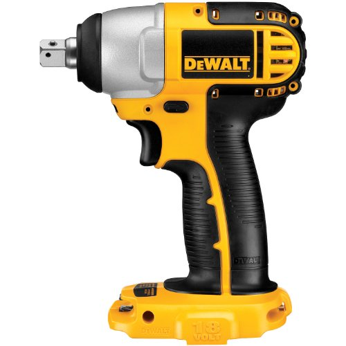 DEWALT DC820B 1/2-Inch 18-Volt Cordless Impact Wrench  (Tool Only)
