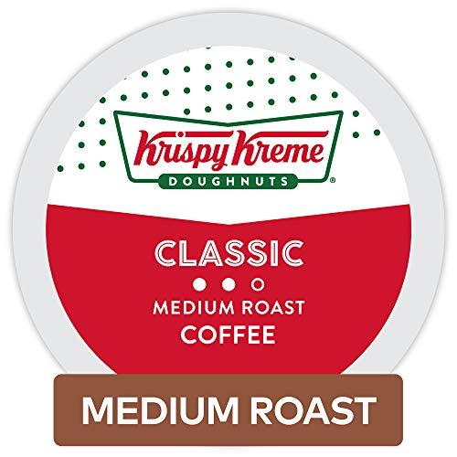 Krispy Kreme Doughnuts Classic, Single Serve Coffee K Cup Pod, Medium Roast, 32Count