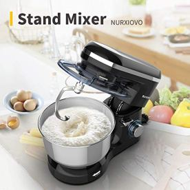 Nurxiovo-Kitchen-Mixer-with-7QT-Stainless-Steel-BowlTilt-Head-Food-Standing-Mixer-6-Speed-660WattsElectric-Baking-Mixer-with-Dishwasher-Safe-Dough-Hook-Whisk-Beater-Splash-Lid