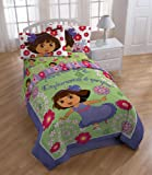 Nickelodeon Dora The Explorer 'Picnic' Comforter with 2 Shams, Full