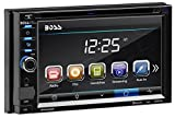 Boss Audio Systems BV9372BI Double Din, Touchscreen, Bluetooth, DVD CD MP3 USB SD AM FM Car Stereo, 6.2 Inch Digital LCD Monitor, Detachable Front Panel, Wireless Remote