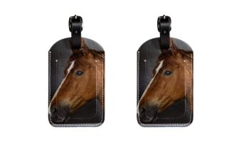 57550b60cf0a Funny Genuine Leather Luggage Tag by Tiny Backpacks - I Licked It ...