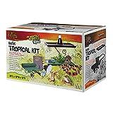 Zilla Basic Tropical Reptile Starter Kit, 10 Gallon Terrarium, for Juvenile Tropical Pets