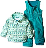 Columbia Kids & Baby Toddler Kids Frosty Slope Set, Tippet Zigzag Print, 2T
