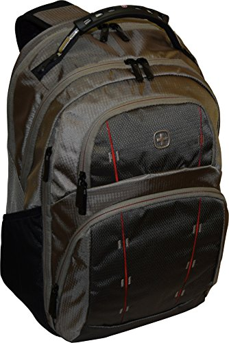 Wenger SwissGear Tandem Backpack With 16' Laptop Pocket -Taupe