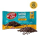 Enjoy Life Semi-Sweet, Dairy Free, Nut Free Vegan Chocolate Chips, 10 Ounce (Pack of 6)