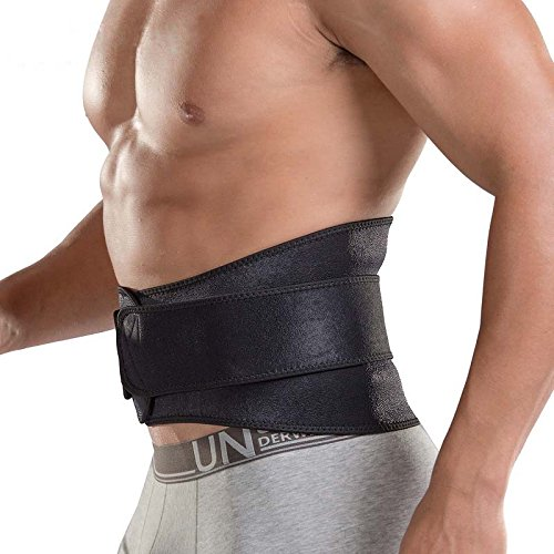3cfec7e9e07 SHIJAY Waist Trimmer Belt Adjustable Weight Loss Training Belt ...