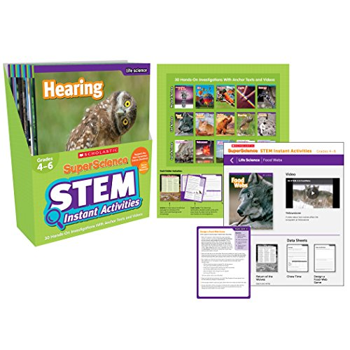 SuperScience STEM Instant Activities: Grades 4-6: 30 Hands-on Investigations With Anchor Texts and Videos