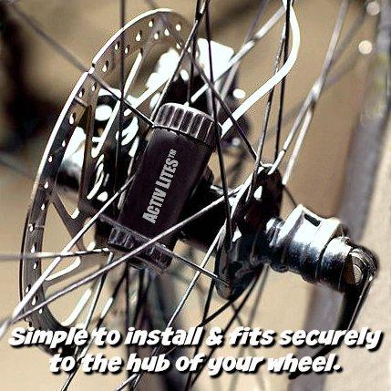 Activ Life LED Bike Wheel Lights with Batteries Included! Get 100