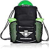 Soccer Bag Backpack with Ball Holder Pocket for Boys Girls Sackpack