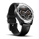 Smart Watch TicWatch Pro Bluetooth, Layered Display, NFC Payments, Google Assistant, Wear OS by Google (Formerly Android Wear), Compatible with iPhone and Android (Silver)