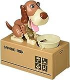 Liberty Imports My Dog Piggy Bank - Robotic Coin Munching Toy Money Box