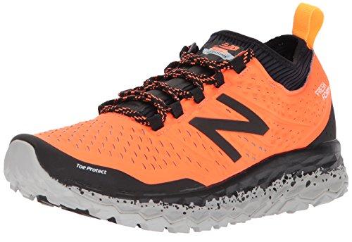New Balance Men's Fresh Foam Hierro v3 Trail Running Shoe, Dynomite/Black, 11 D US