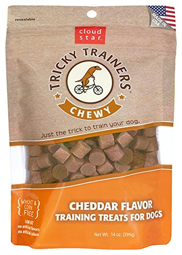 Cloud Star Tricky Trainers Chewy Dog Treats - Cheddar Flavor - 14 Oz. 1