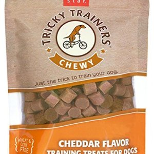 Cloud Star Tricky Trainers Chewy Dog Treats – Cheddar Flavor – 14 Oz.