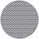 BooginHead Baby Newborn Toddler Kid SplatMat, Floor Cover, High Chair, Picnic, Art Project, Play Time, Crafts, Protective Mat Go Go Chevron, Gray