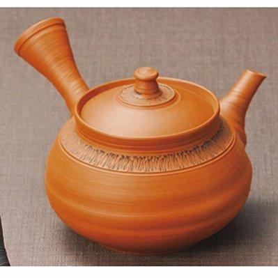 Japanese ceramic Tokoname ware. Kyusu teapot. 240cc