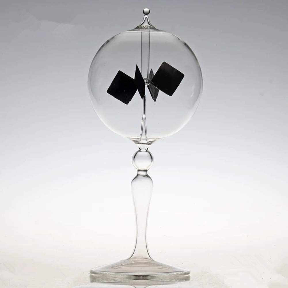 Power Radiometer Sun Light Energy Spinning Vanes Windmill