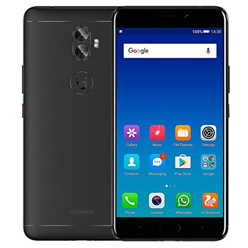 Gionee A1 Plus 4GB+64GB 6.0 inch Android 7.0 MTK6757CD Octa Core up to 2.5GHz GSM & WCDMA & FDD-LTE (Black)