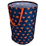 Superman Collapsible Kids Laundry Hamper by DC Comics - Pop Up Portable Children's Clothes Basket for Closet, Bedroom, Boys & Girls Clothes - Foldable Laundry Bin with Strong Handles & Design