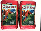 Costa Rica Whole Bean Coffee - Two 2 Lb. Bags
