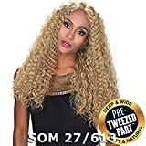 Sis Royal Pre-Tweezed Part Swiss Lace Front Wig - QUEEN (1B Off Black)