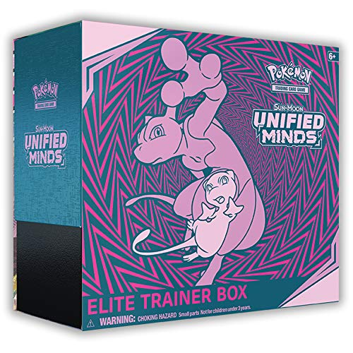 Pokemon TCG: Sun & Moon-Unified Minds Elite Trainer Box + 8 Booster Pack + A Collector's Box