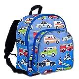 Wildkin 40111 Olive Kids Heroes 12 Inch Backpack, Pack 'n Snack