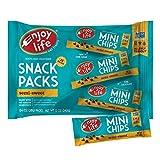 Enjoy Life Semi Sweet, Dairy Free, Vegan Mini Chocolate Chips, Snack Packs, 6 Count