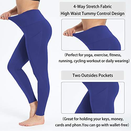 Royal blue yoga pants