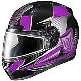 HJC Striker Adult CL-17 Snocross Snowmobile Helmet - MC-8 / Small