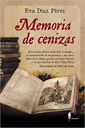 Memoria de cenizas de Eva Díaz Pérez