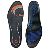 Sof Sole Insoles Men's AIRR Performance Full-Length Gel Shoe Insert, Men's 11-12.5 Black