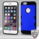 MyBat Cell Phone Case for Apple iPhone 6 Plus - Titanium Dark Blue/Black