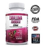 Pure Caralluma Fimbriata 1200mg Max Strength - Appetite Suppressant, Increase Fat Burn, Weight Loss Supplement, Non-Stim - for Men & Women - 1 Month