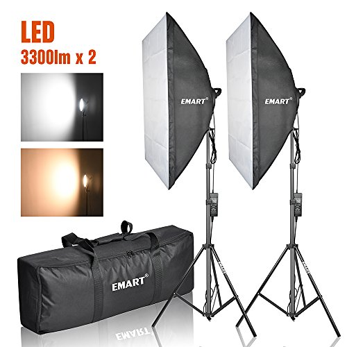 Emart Photography Softbox Kit