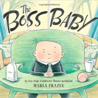 The Boss Baby Book Cover