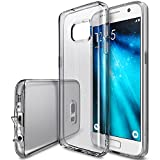 Ringke [Air] Compatible with Galaxy S7 Case Weightless as Air, Extreme Lightweight & Thin Transparent Soft Flexible TPU Scratch Resistant Protective Case for Samsung GalaxyS7 - Smoke Black