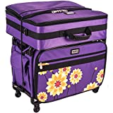 "Tutto Machine on Wheels-21""L x 14""H x 12""D Purple Dahlia Large"